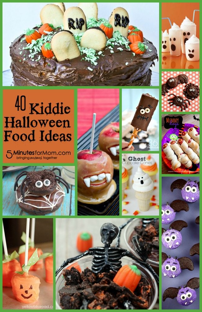 40 Kiddie Halloween Food Ideas