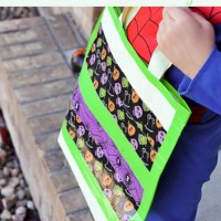 Glow in the Dark Duck Tape Trick or Treat Bag
