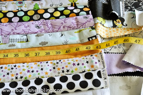 Riley Blake Too Cute to Spook Pillows by Bombshell Bling-10
