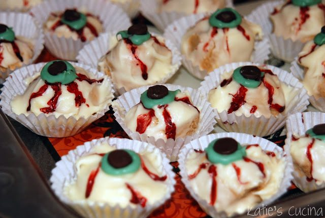 *pb eyeball truffles