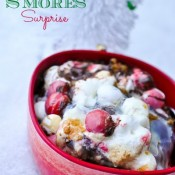 Christmas S'mores Surprise