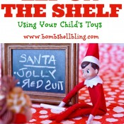 Elf on the Shelf Using Toys