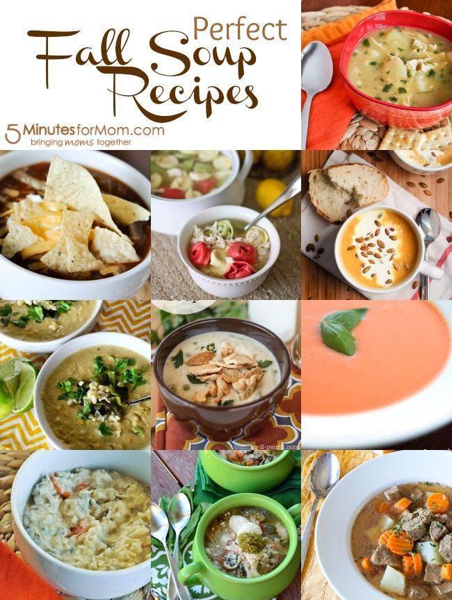 10 PERFECT Fall Soup Recipes!