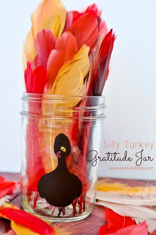 Turkey Gratitude Jar