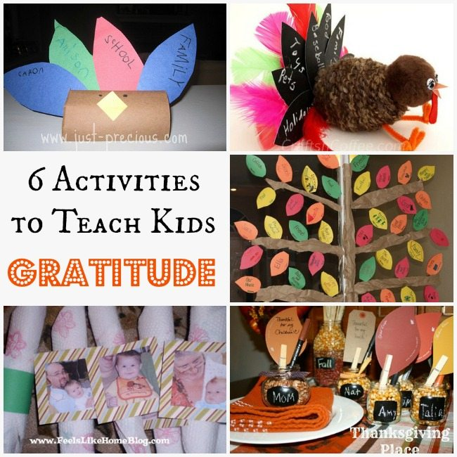 ideas for christmas pictures of toddlers - 20 Activities to Teach Kids Gratitude