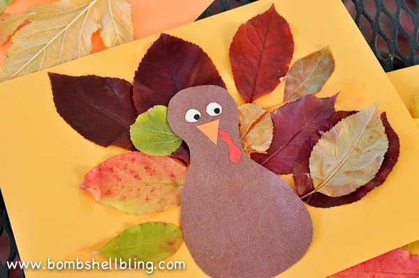 Turkey Leaf Placemat Amp Blog Hop