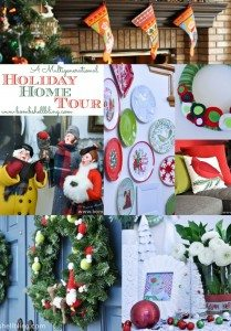 A Multigenerational Holiday Home Tour from Bombshell Bling