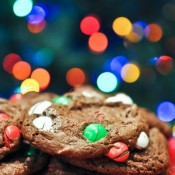 I love these 4 ingredient Christmas cookies!