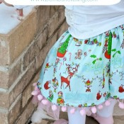 Pom Pom Twirly Skirt Tutorial from Bombshell Bling