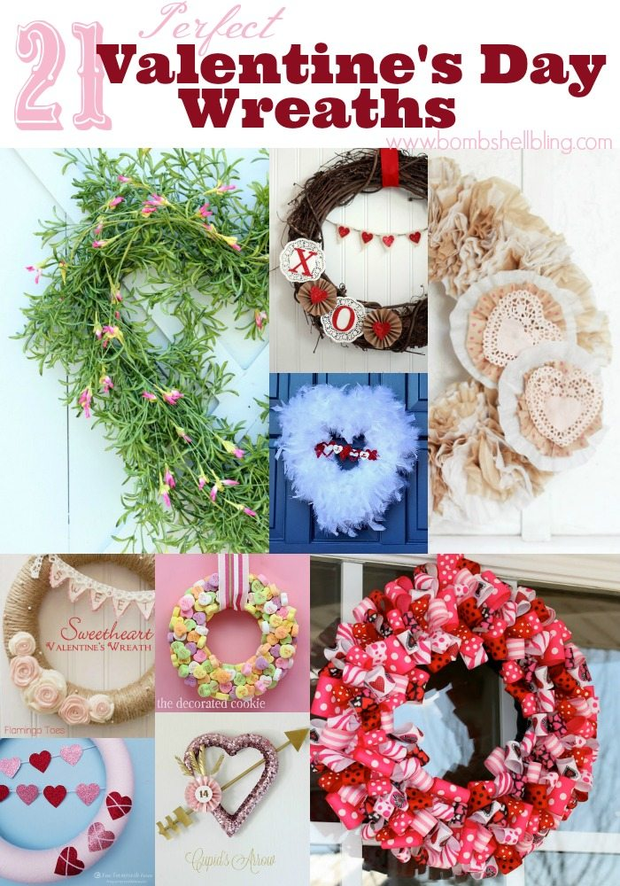 21 Perfect Valentine's Day Wreaths