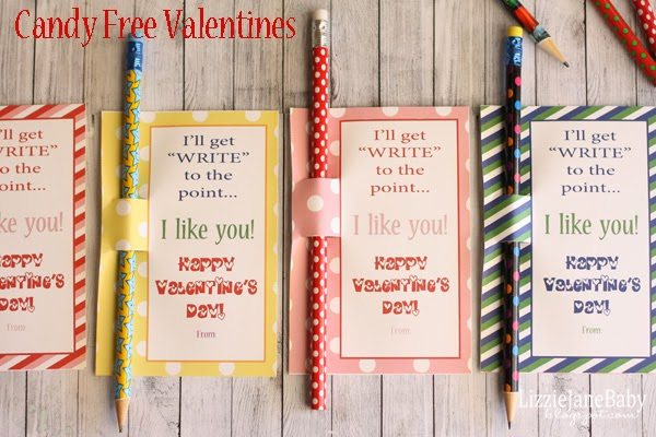 30 Non Candy Valentine Ideas Printables – Candy Valentine Card