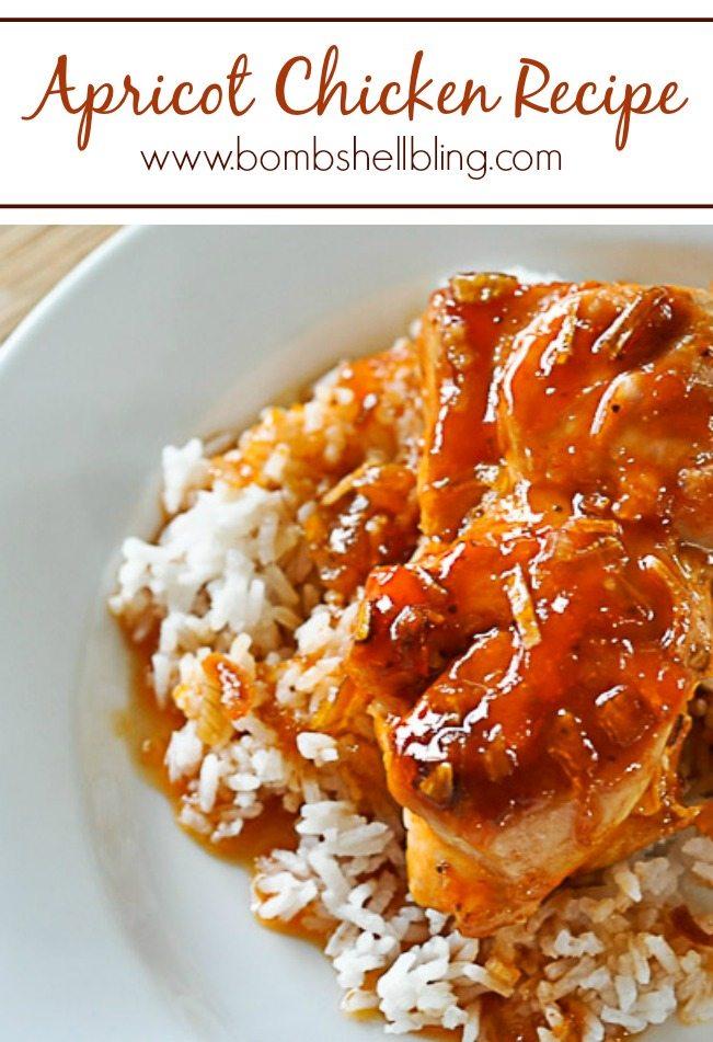 Easy apricot preserves chicken recipe