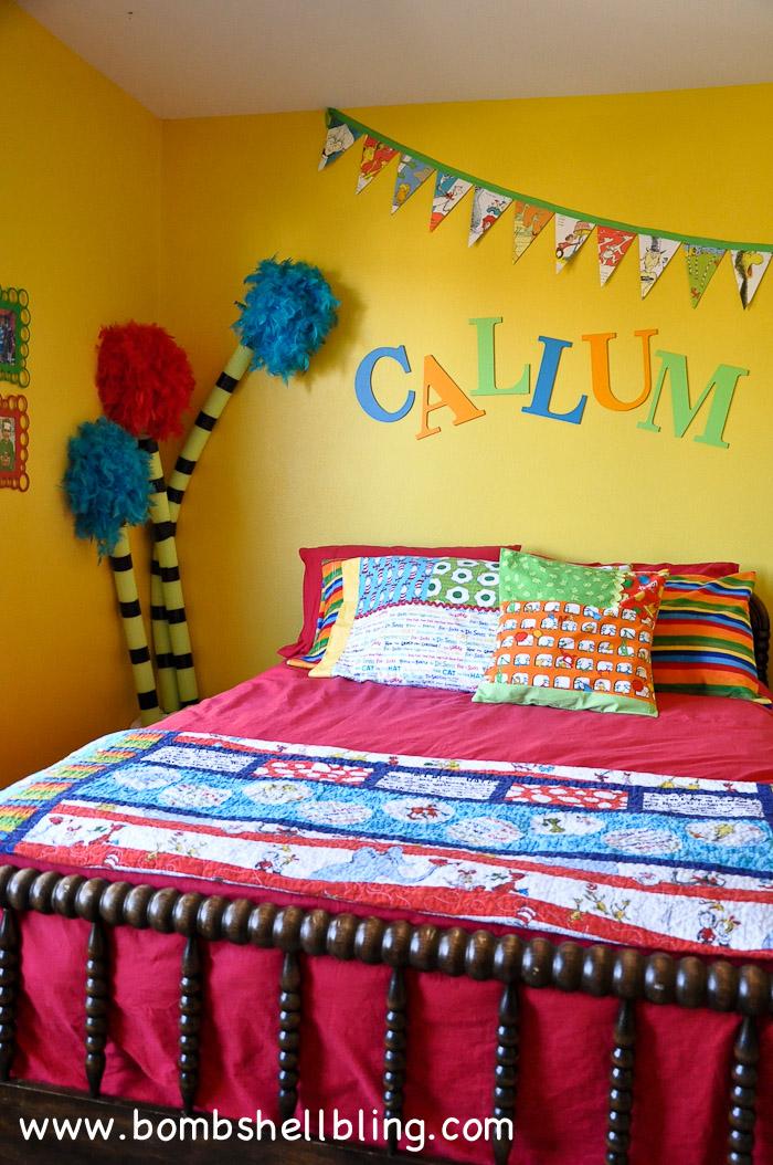 dr seuss bedroom reveal