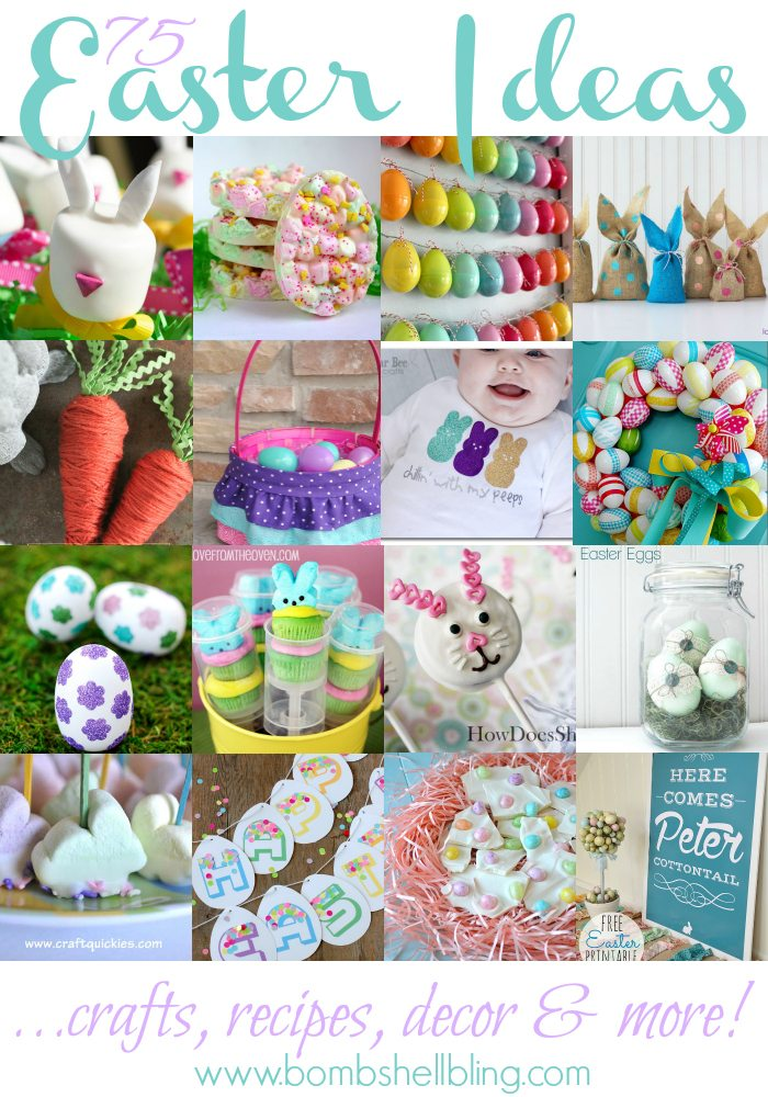 easter food craft ideas easter ideas 75 great options for recipes crafts and decor 4323