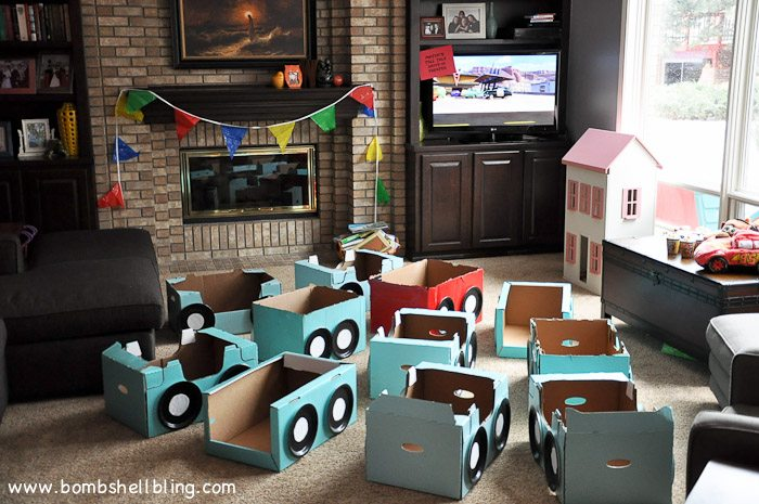 "This ""Mater's Tall Tales Drive-In"" is too cute!  Perfect for a Cars birthday party!"