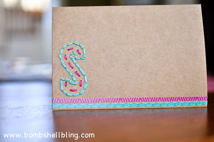 Hand Stitched Cards-10