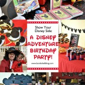 I love this Disney Adventure birthday party! Great ideas for Wreck it Ralph, Mickey Mouse Clubhouse, Cars, The Avengers, Peter Pan, and Star Wars!