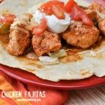 Mama's Chicken Fajitas Recipe