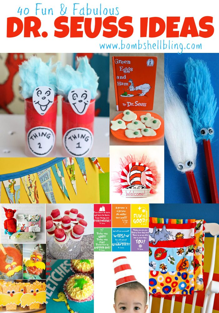 Dr Seuss Birthday Crafts Kindergarten