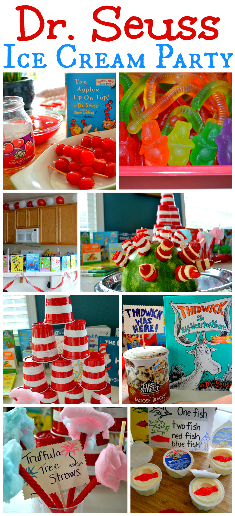 Seuss Ideas Fun Fabulous Food Crafts