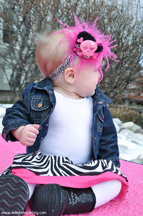 Punk Rock Baby Headband-12