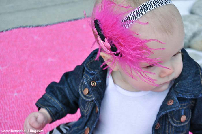 Punk Rock Baby Headband-13