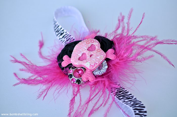 Punk Rock Baby Headband-15