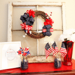 patriotic wreath tutorial