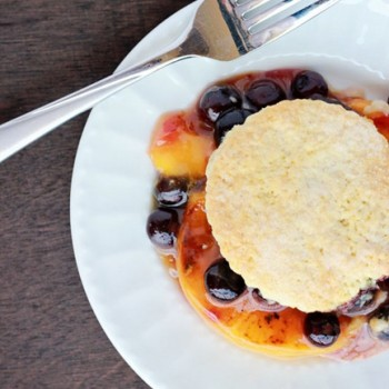 Blueberry Peach Cobbler Recipe