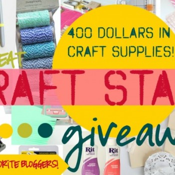 The Great Craft Stash Giveaway