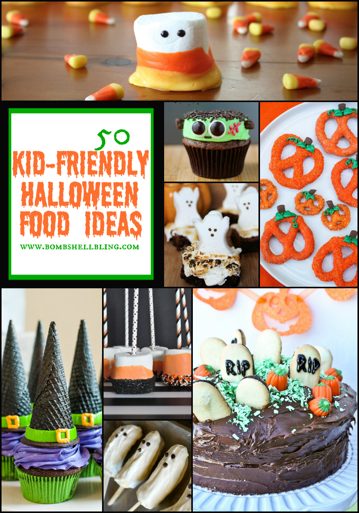 50 kid friendly halloween food ideas