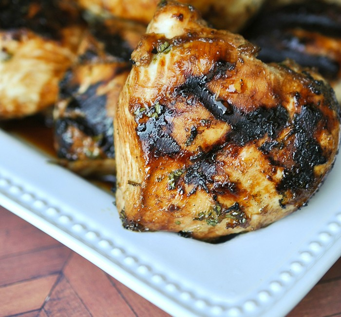 This ginger lime chicken is a simple marinade for grilling with a tangy Asian twist. Perfect served with grilled pineapple!
