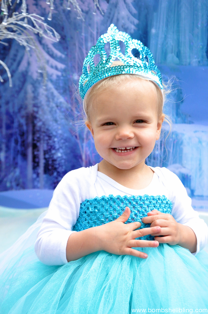 Frozen Family Costumes Elsa Tutu Dress -2