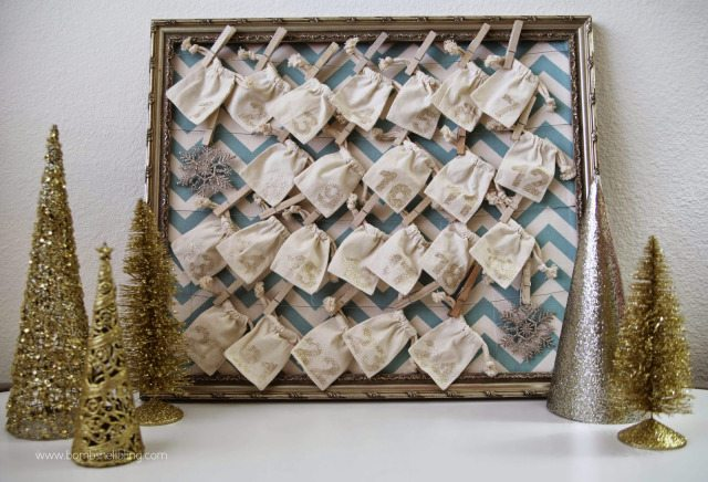 Diy Sewing Advent Calendar : Diy activity advent calendar