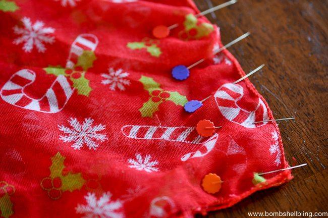 Toddler Christmas Infinity Scarf-2