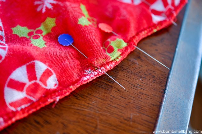 Toddler Christmas Infinity Scarf-4