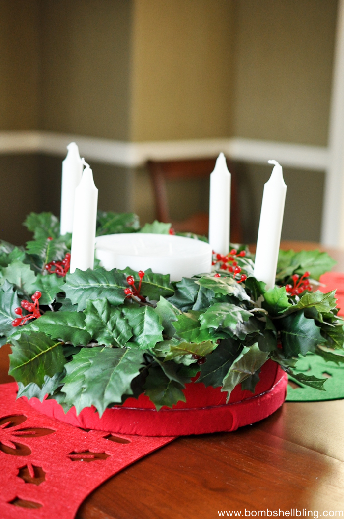 Christmas Advent Wreath Family Tradition