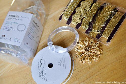 Gold Wreath Ornament Tutorial-1