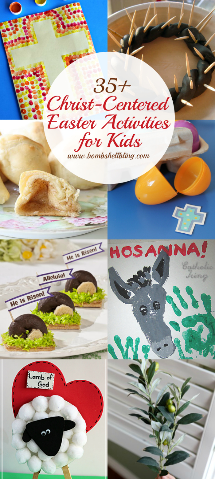 Christ Centered Easter Activities And Crafts For Kids