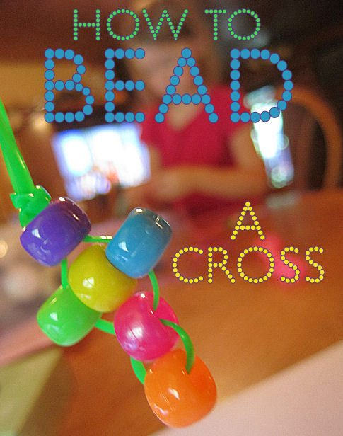 Christ centered easter activities and crafts for kids for Bead craft ideas for kids