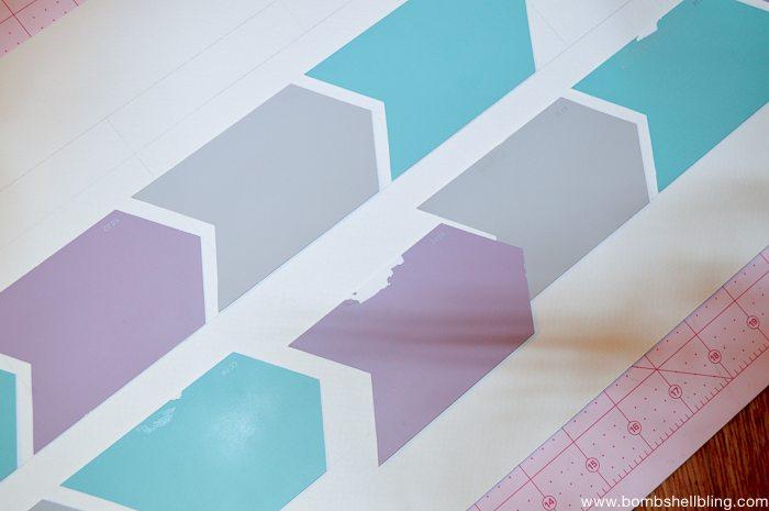 Paint chip menu planner tutorial for Paint planner