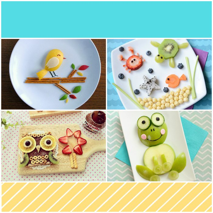 Food art for kids fun ideas turning food into art kids for Cool food ideas for kids