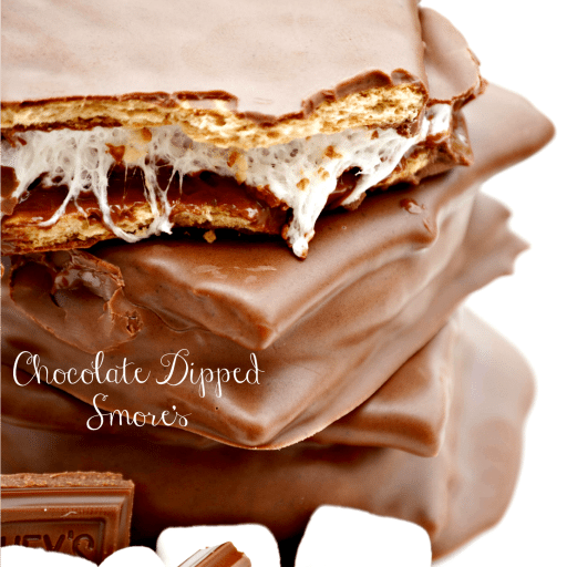 Chocolate Dipped S'mores Recipe