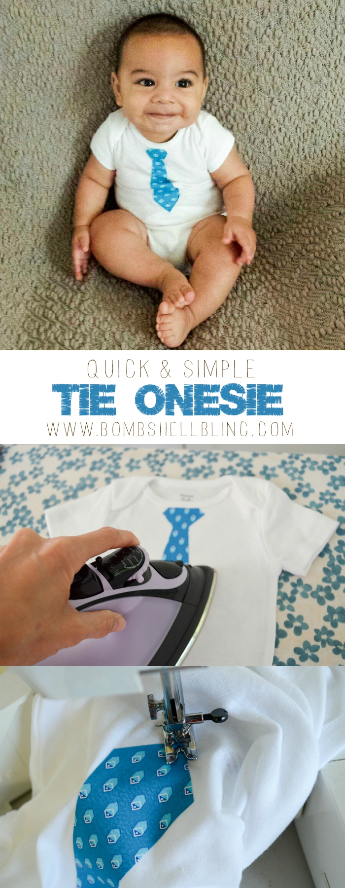 Easy Tie Dye Tips And Step By Step Instructions: Quick & Simple Tie Onesie Tutorial