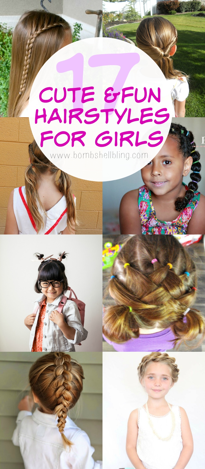 I hope these 17 hairstyles for girls inspire you to try something new with your daughter's hair! Be sure to check out my other Beauty & Fashion posts and my ...
