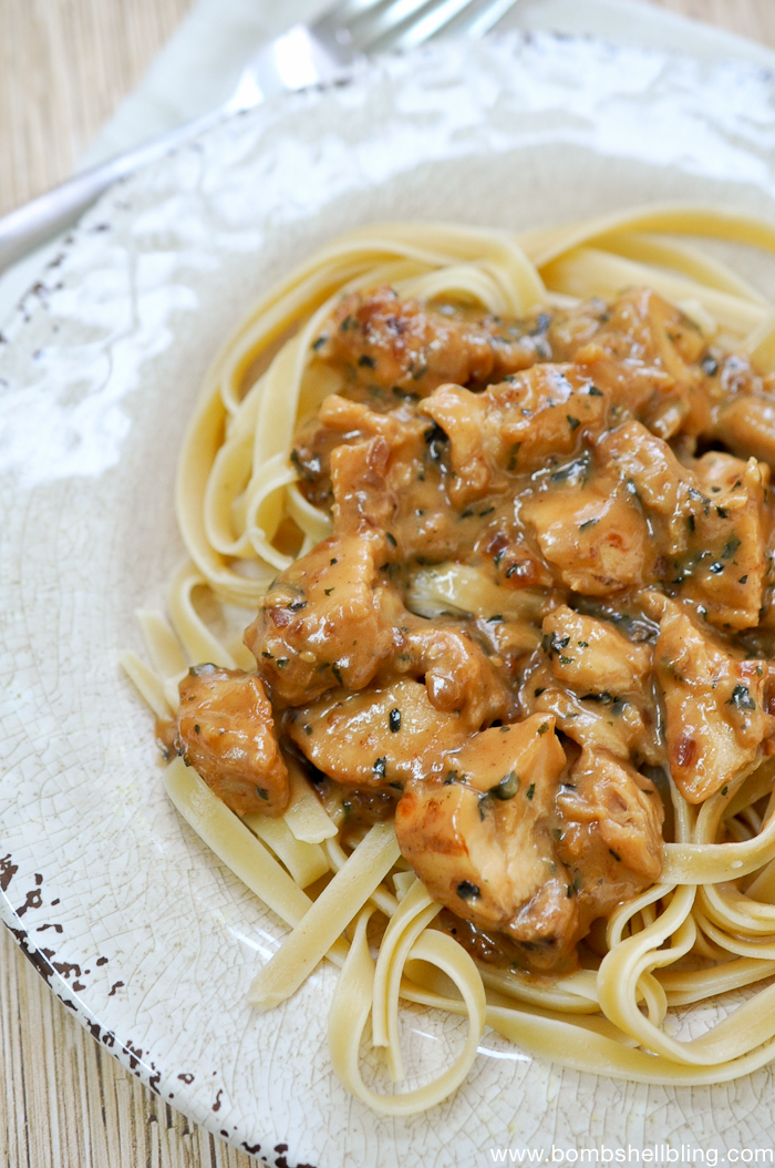 Teriyaki Chicken Alfredo Recipe
