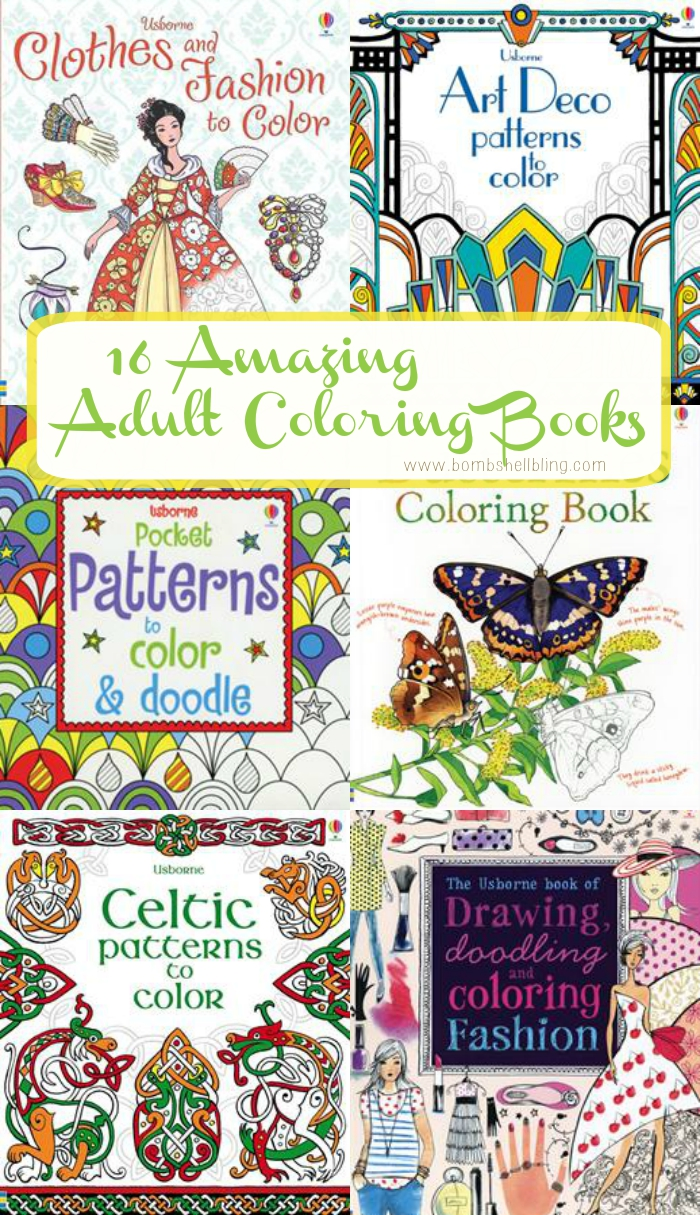 Awesome coloring books for adults - 16 Awesome Adult Coloring Books