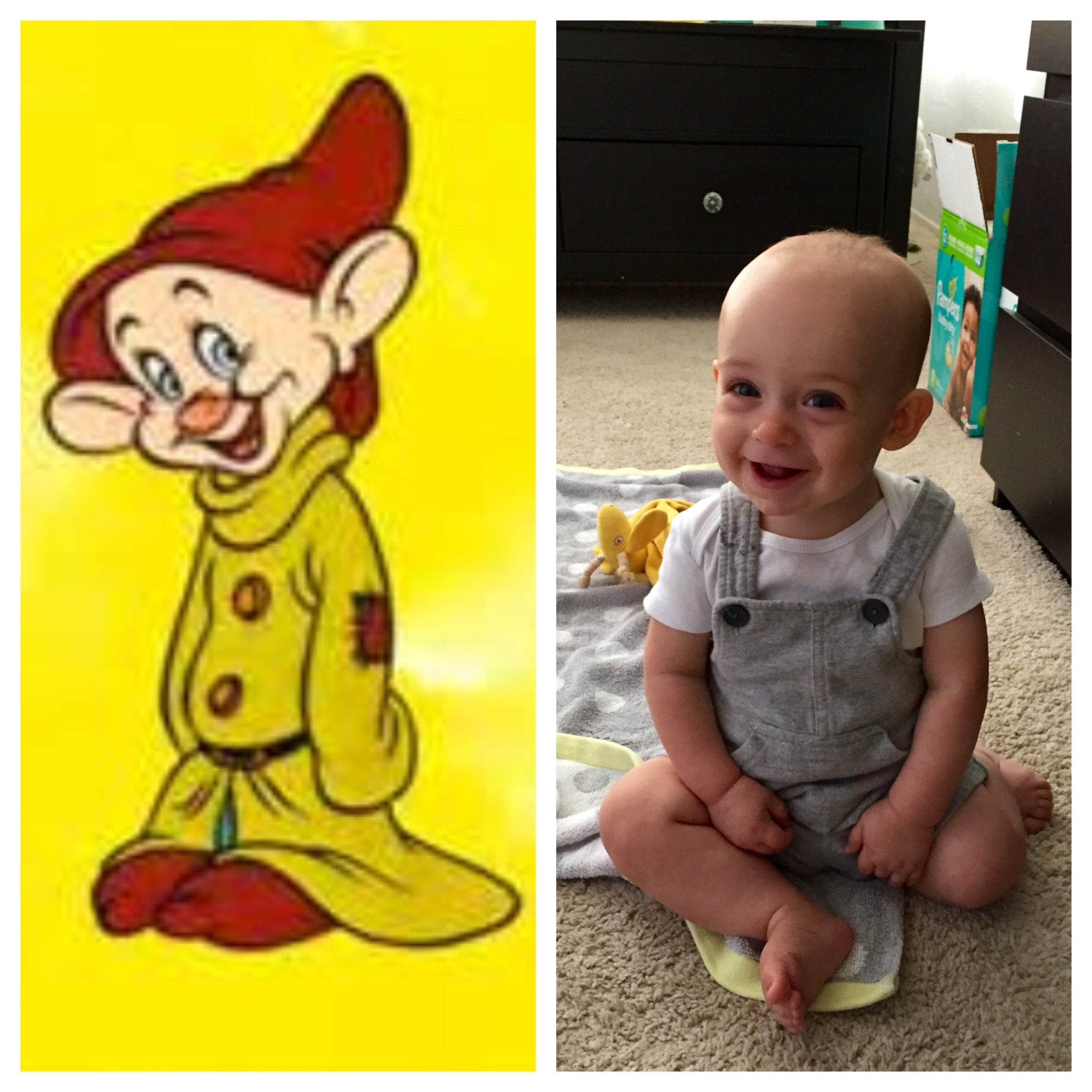 Dopey the dwarf costume a simple diy for halloween solutioingenieria Image collections