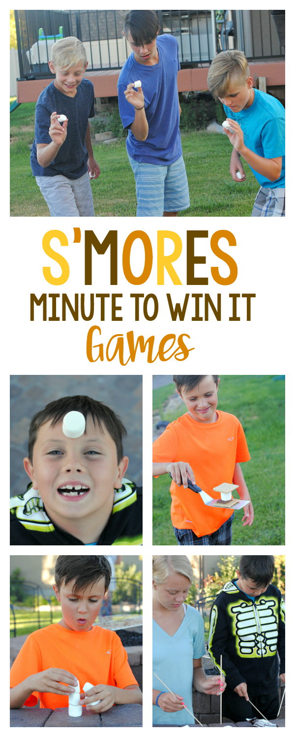s u0027mores minute to win it games